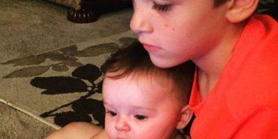 Ya tiene otro bebé, una niña. Bentley ya cuenta con siete años. Foto:vía Instagram