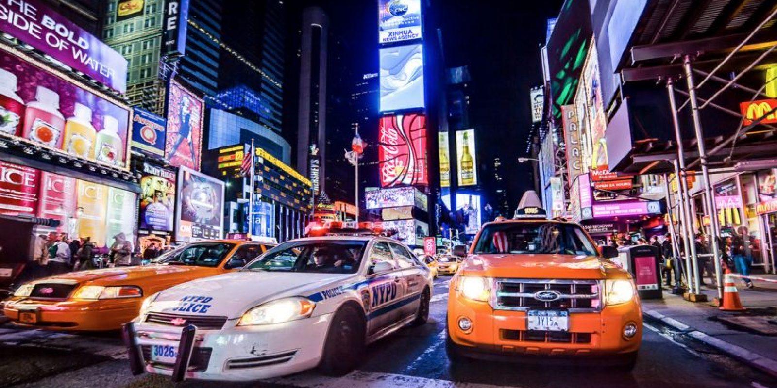 Entre ellos Times Square, la intersección más famosa de la ciudad. Foto:Vía Flicker