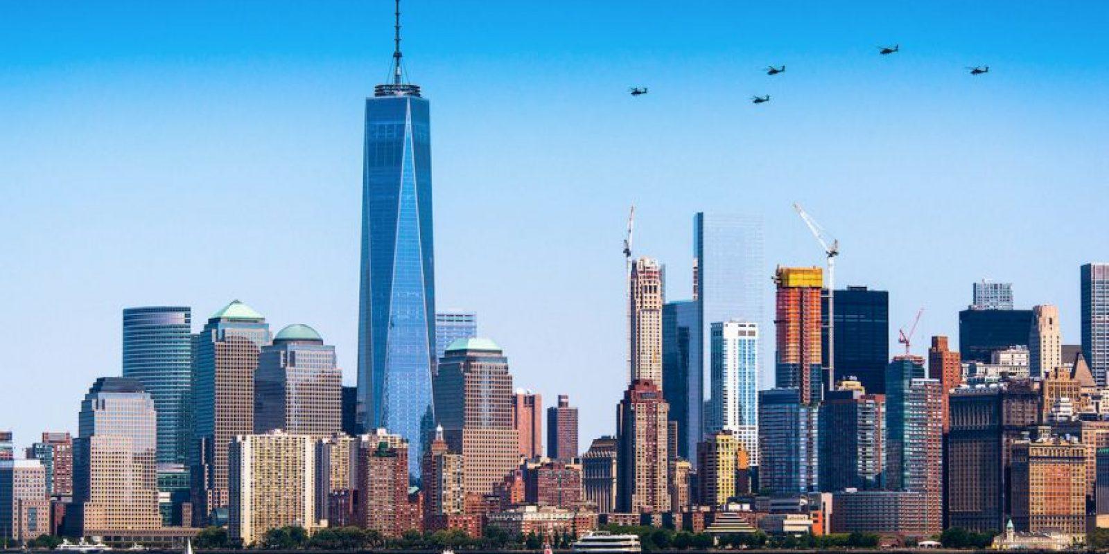El nuevo One World Trade Center. Foto:Vía Flicker