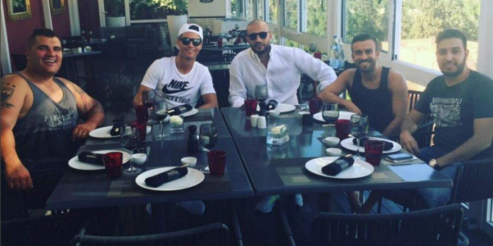 Eso sí, el portugués siempre está divirtiéndose, ya sea en Marruecos, Madrid o cualquier lugar. Foto:Vía instagram.com/Cristiano