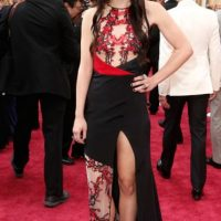 Lorelei Linklater quería imitar a Rose McGowan cuando era novia de Marilyn Manson. Así no. Foto:vía Getty Images