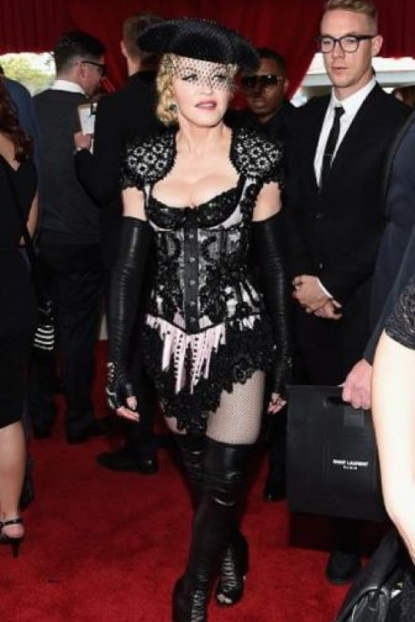 "Madonna, como ""Sailor Torera"". Foto: vía Getty Images"