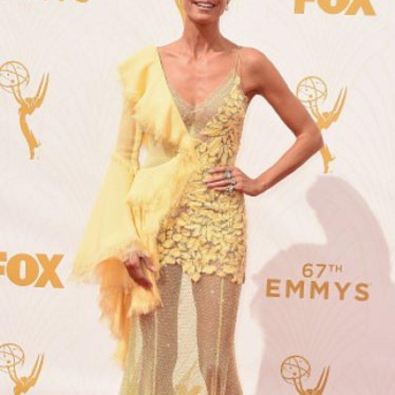 Heidi Klum, en los Emmy, como patinadora artística. Foto:vía Getty Images