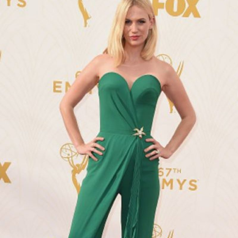 "January Jones salió del casting de ""Boogie Nights"". Foto: vía Getty Images"
