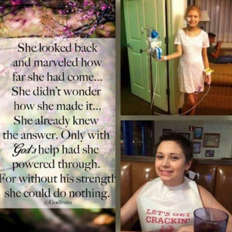 """""""Mi hija está llorando porque le hicieron esto"""". Foto:vía Facebook/Team Nicole"""