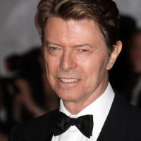 David Bowie aparece cada vez menos en público. Pero luce así a sus 68 años. Foto:vía Getty Images