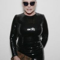 """Debbie Harry (de """"Blondie"""") se ve así a sus 70 años. Foto:vía Getty Images"""