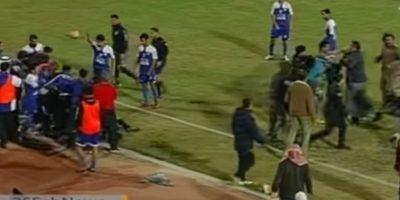 La policía tuvo que intervenir para que el incidente no pasara a mayores. Foto:YouTube