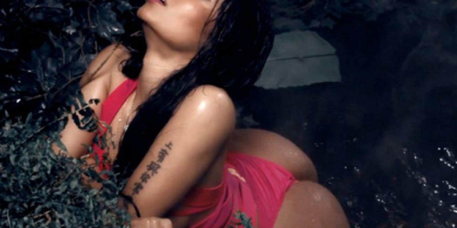 El video se hizo famoso por sus letras explícitas. Foto:vía VEVO/Nicki Minaj