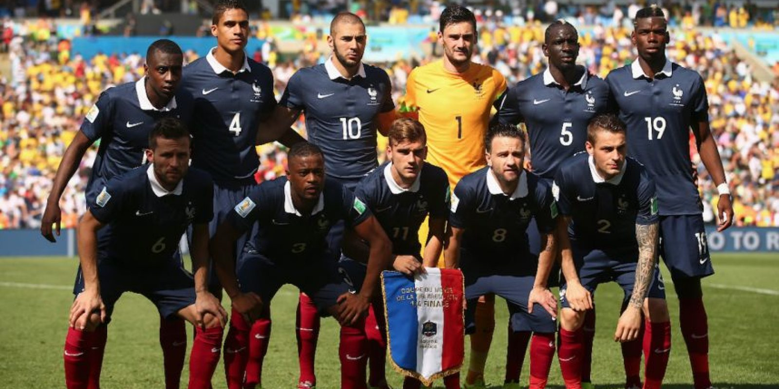 Francia, por ser local, pasa directamente al grupo A. Foto: Getty Images