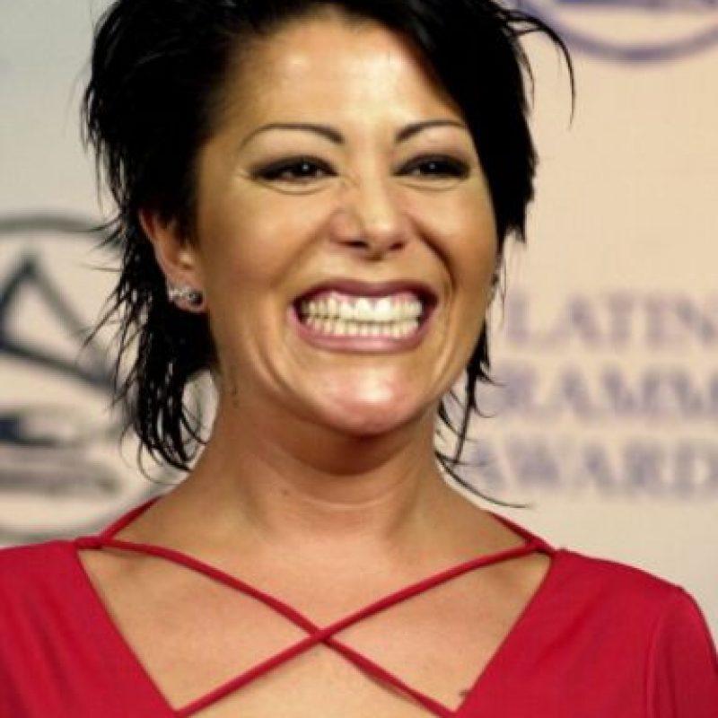 """En 2004 lanzó su primer álbum en inglés, """"Lipstick"""". Le fue mal en ventas pero fue nominada a dos categorías en los Grammy. Foto:vía Getty Images"""