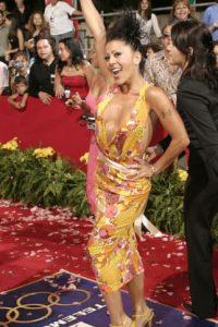"""Se consagraría con """"Flor de Papel"""", en 1991. Por ese trabajo fue nominada al Grammy anglo. Foto:vía Getty Images"""