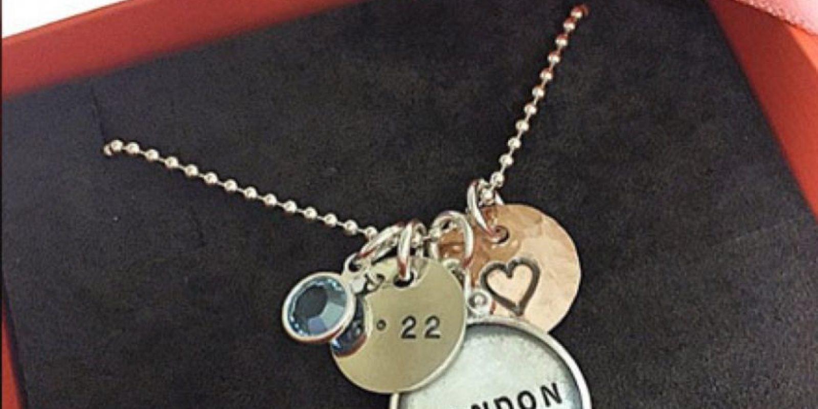 Pero este nombre lo tiene una marca de joyas londinense desde 2009. Foto:vía London Jewels