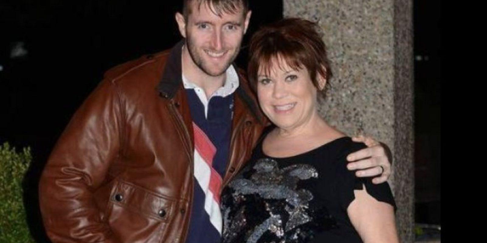 Tina y su esposo Foto:Vía Twitter/@TinaMalone