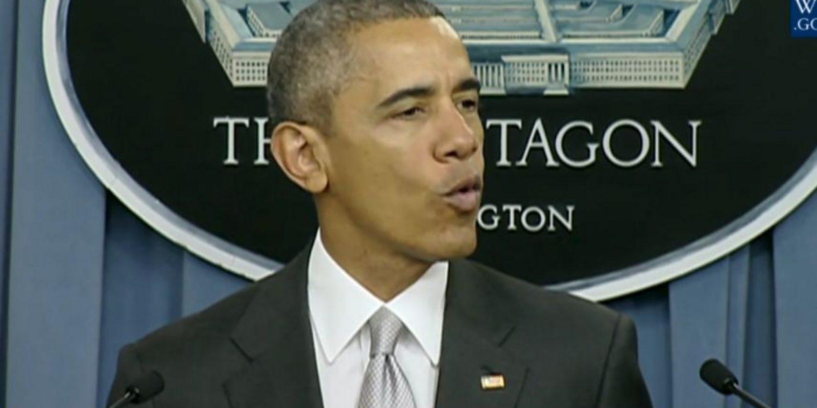 Barack Obama aseguró que el gobierno irá tras los líderes del grupo terrorista. Foto:White House