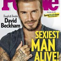 Sin embargo, fue varios años después del retiro que se le consideró el hombre más sexy del planeta. Foto:Vía instagram.com/davidbeckham