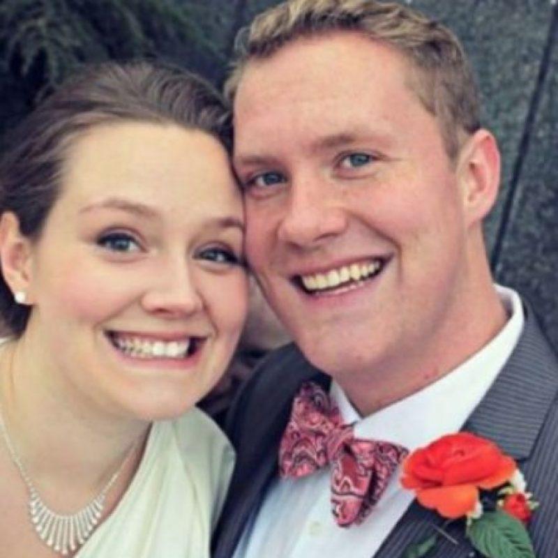 """4. El """"intruso"""" el día de la boda Foto:Imgur"""