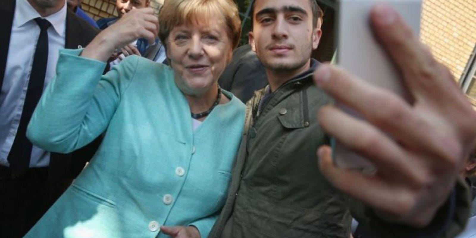 Su unión a la lucha contra el terrorismo. Foto:Getty Images