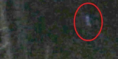 """Según los expertos en fantasmas, las imágenes captadas en Cannock Chase, en Reino Unido, son de """"Black Eyed Child"""", un niño que se aparece en un bosque que presenta """"actividad paranormal"""". Foto:Via Hunted Finders"""