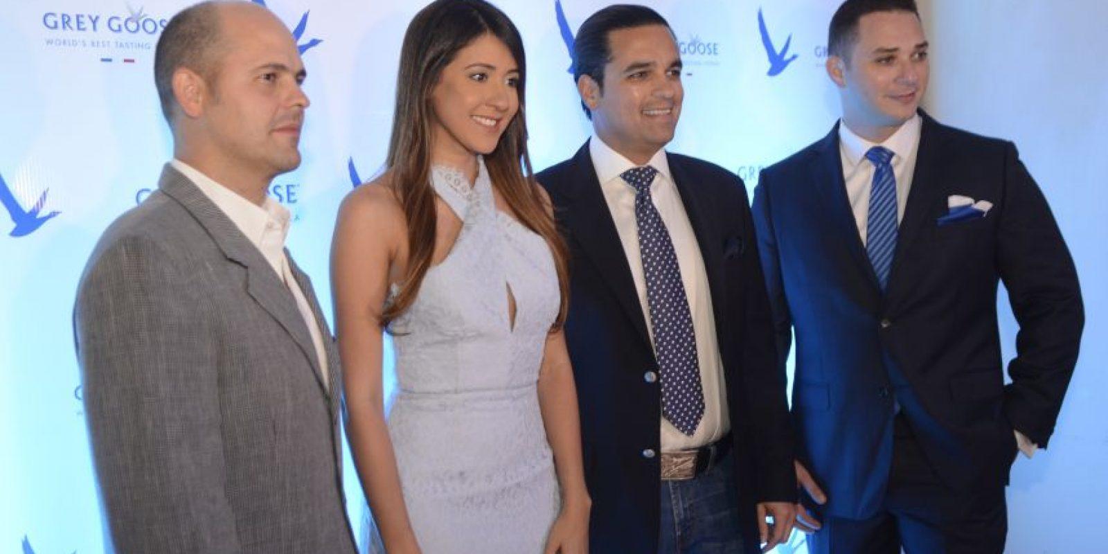 Andrés Olaverria, Emily McDougall, Omar Elías y Frank Salvucci