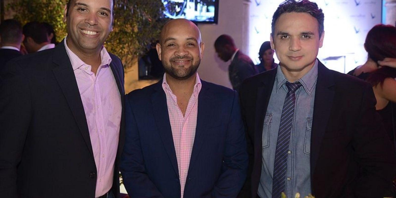Alex Rojas, Juan Carlos Albelo y Cherny Reyes