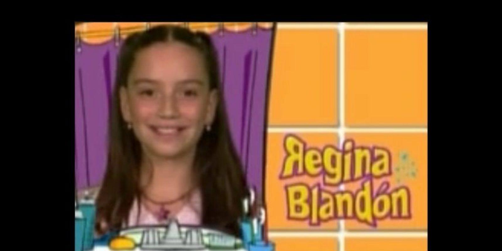 """Regina Blandón interpretó a """"Bibi P. Luche"""", a la que siempre le reclamaban por no ser """"una niña normal"""". Foto:vía youtube.com"""