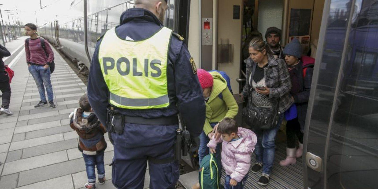 Suecia se unió a los países que también han tomado medidas drásticas contra la inmigración en las últimas semanas. Foto:AFP
