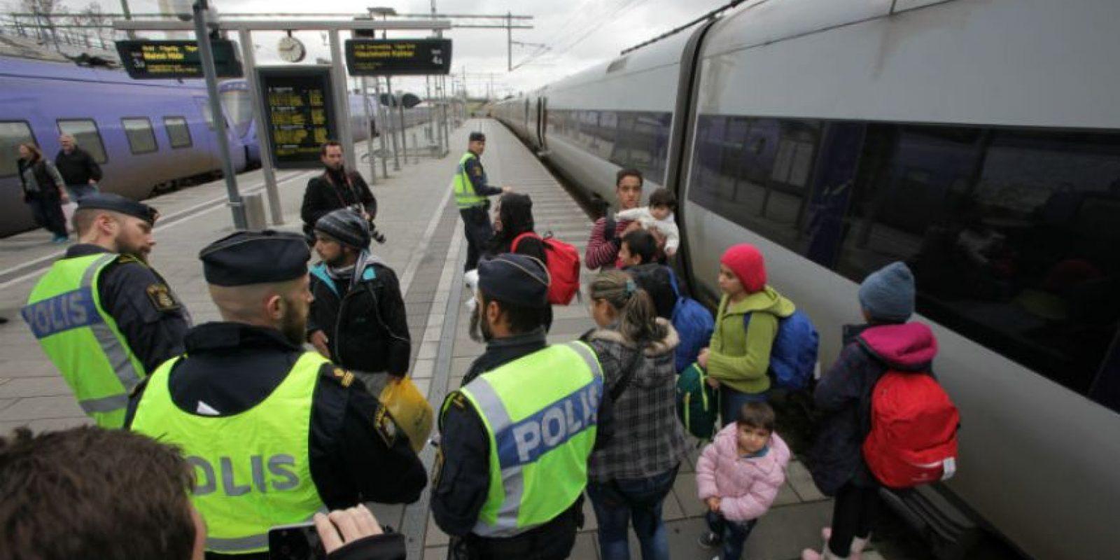 Que el país esta buscando un espacio con los refugiados. Foto:AFP