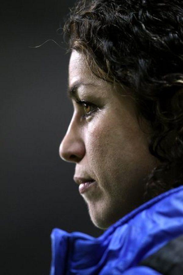 En 2008, Eva trabajó con el Instituto Médico Olímpico que se preparaba para los Juegos de Pekín en 2008. Le tocó participar con el equipo femenino de fútbol y con el de atletismo. Foto:Tumblr