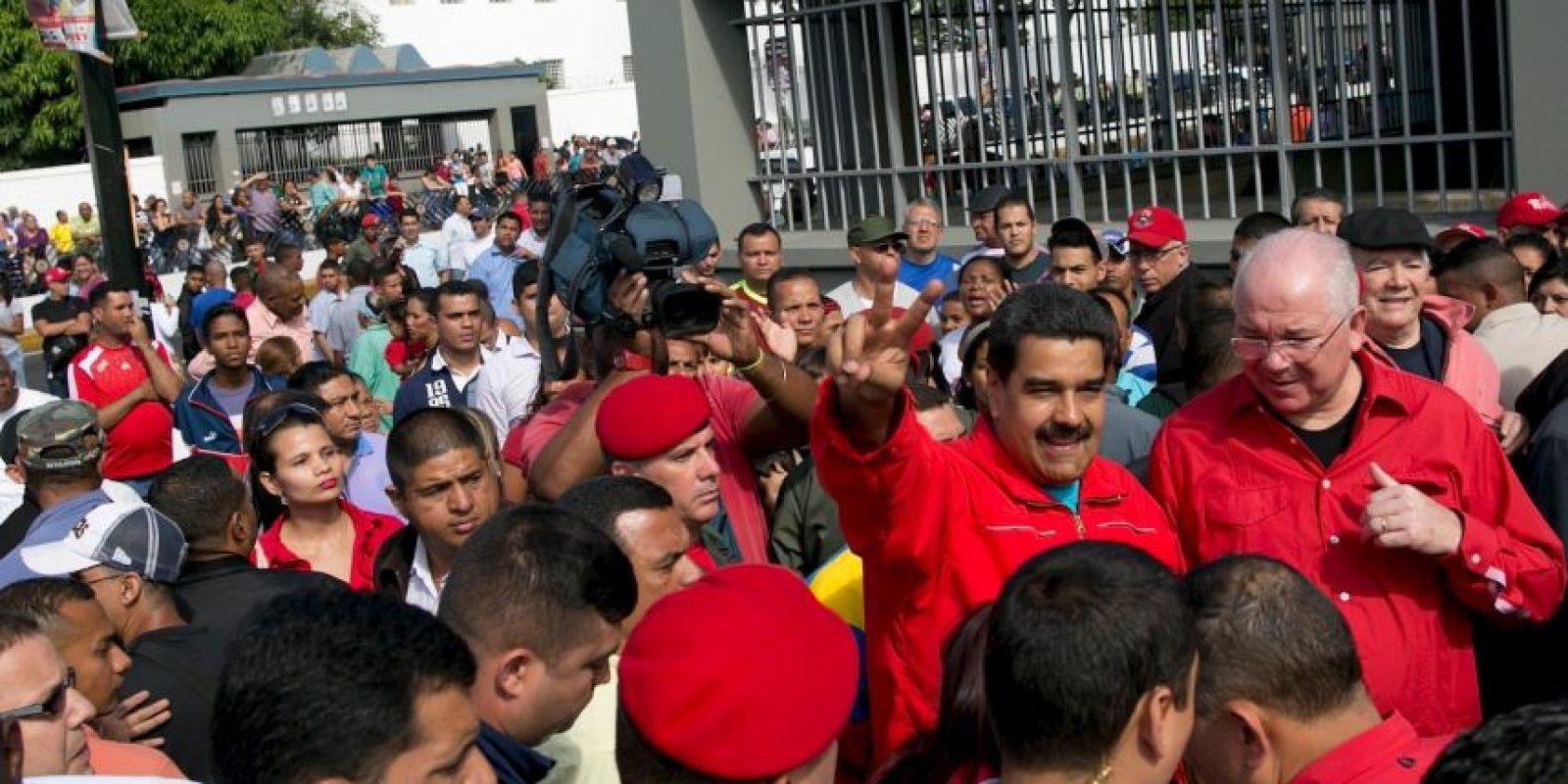 Así ha transcurrido la jornada electoral en Venezuela Foto:AP