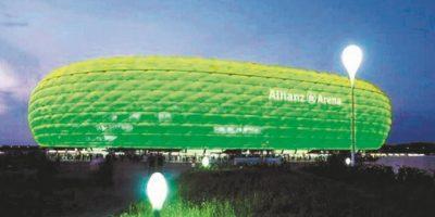 Allianz Arena. Munich, Alemania Foto:Metro