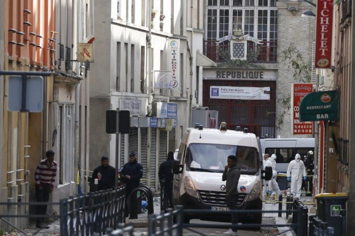 No hubo rastros de Abdelhamid Abaaoud Foto:AFP