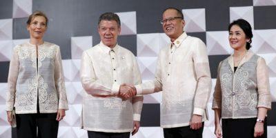 Juan Manuel Santos, presidente de Colombia Foto:AFP