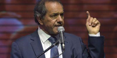Aunque Daniel Scioli continúa con fuerza. Foto:AFP