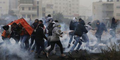 Conflicto entre israelíes y palestinos Foto:AFP