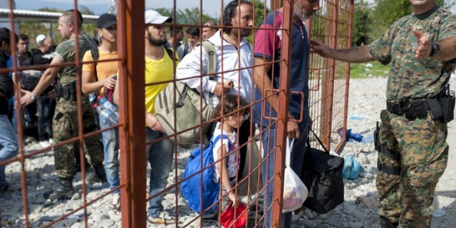 Durante 2015, miles de personas han cruzado la frontera, buscando una vida mejor en otro lugar Foto:AFP