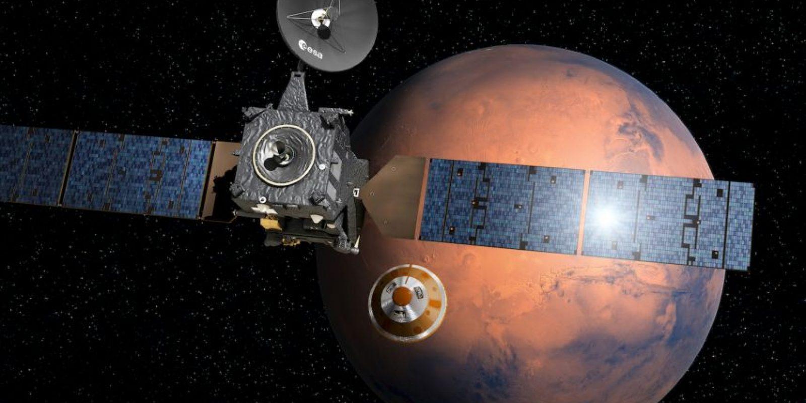 La ESA espera poner un explorador en suelo marciano, similar al Curiosity Foto:AFP