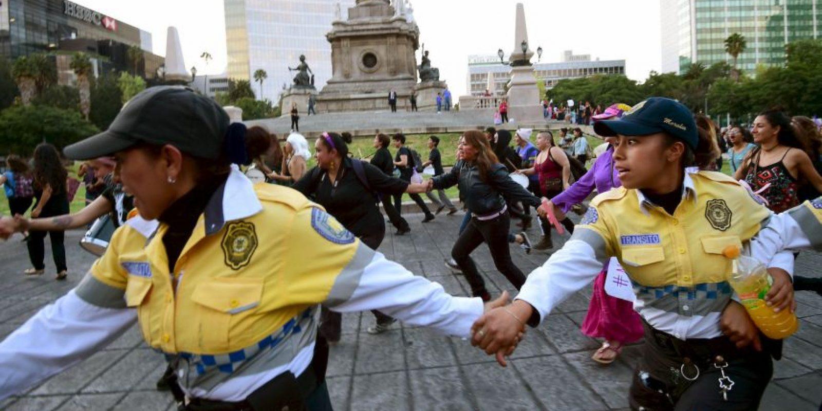 Esta semana, millones de mujeres en América Latina salieron a las calles para manifestarse contra la violencia hacia las mujeres Foto:AFP