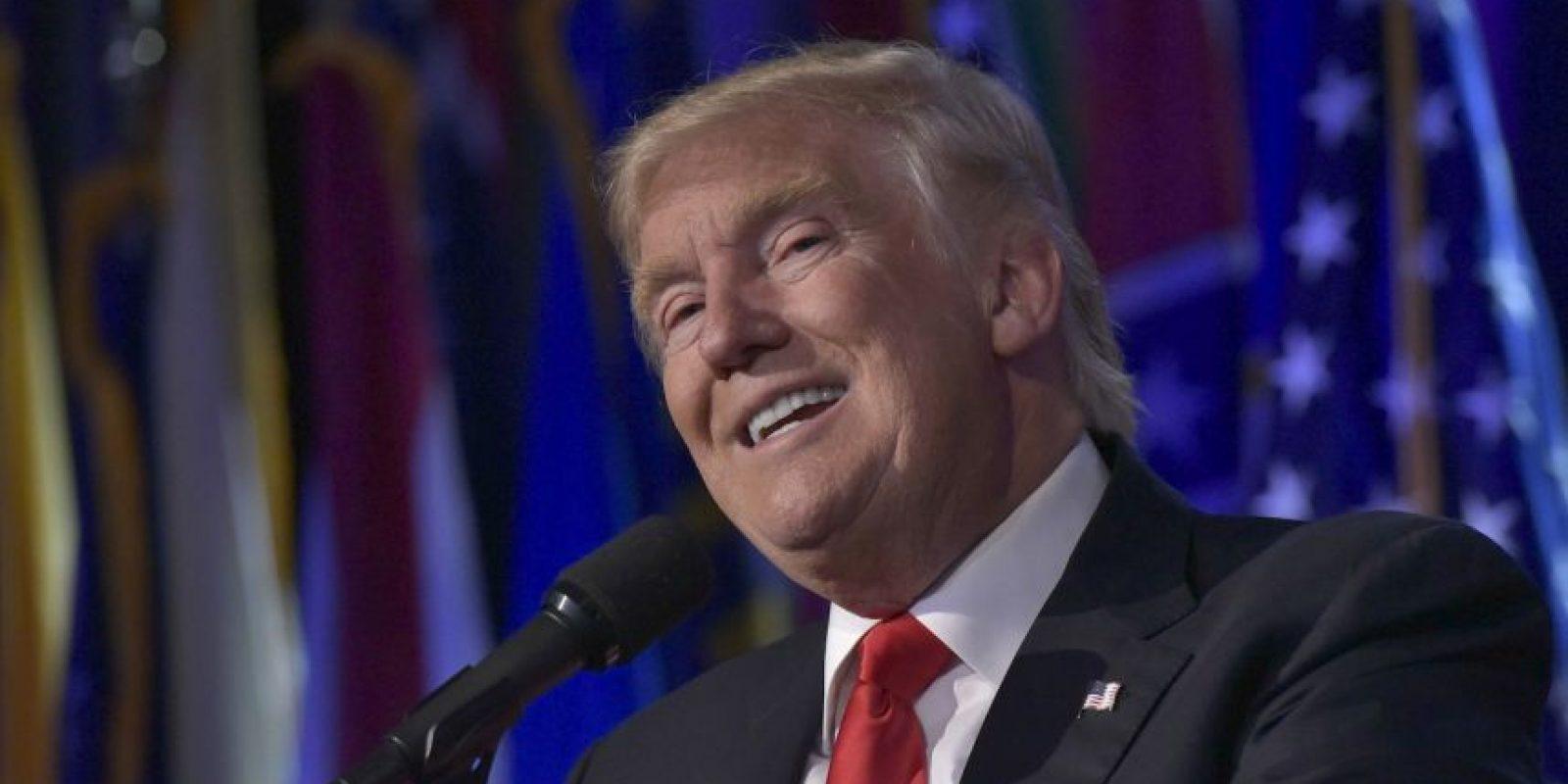 A partir del 20 de enero, será el presidente número 45 de Estados Unidos Foto:AFP