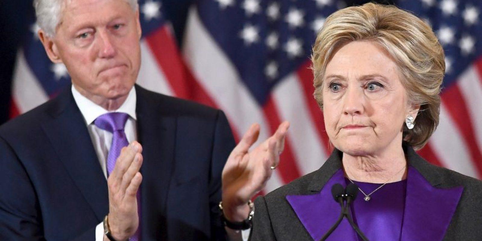 Hillary Clinton aceptó su derrota esta mañana Foto:AFP