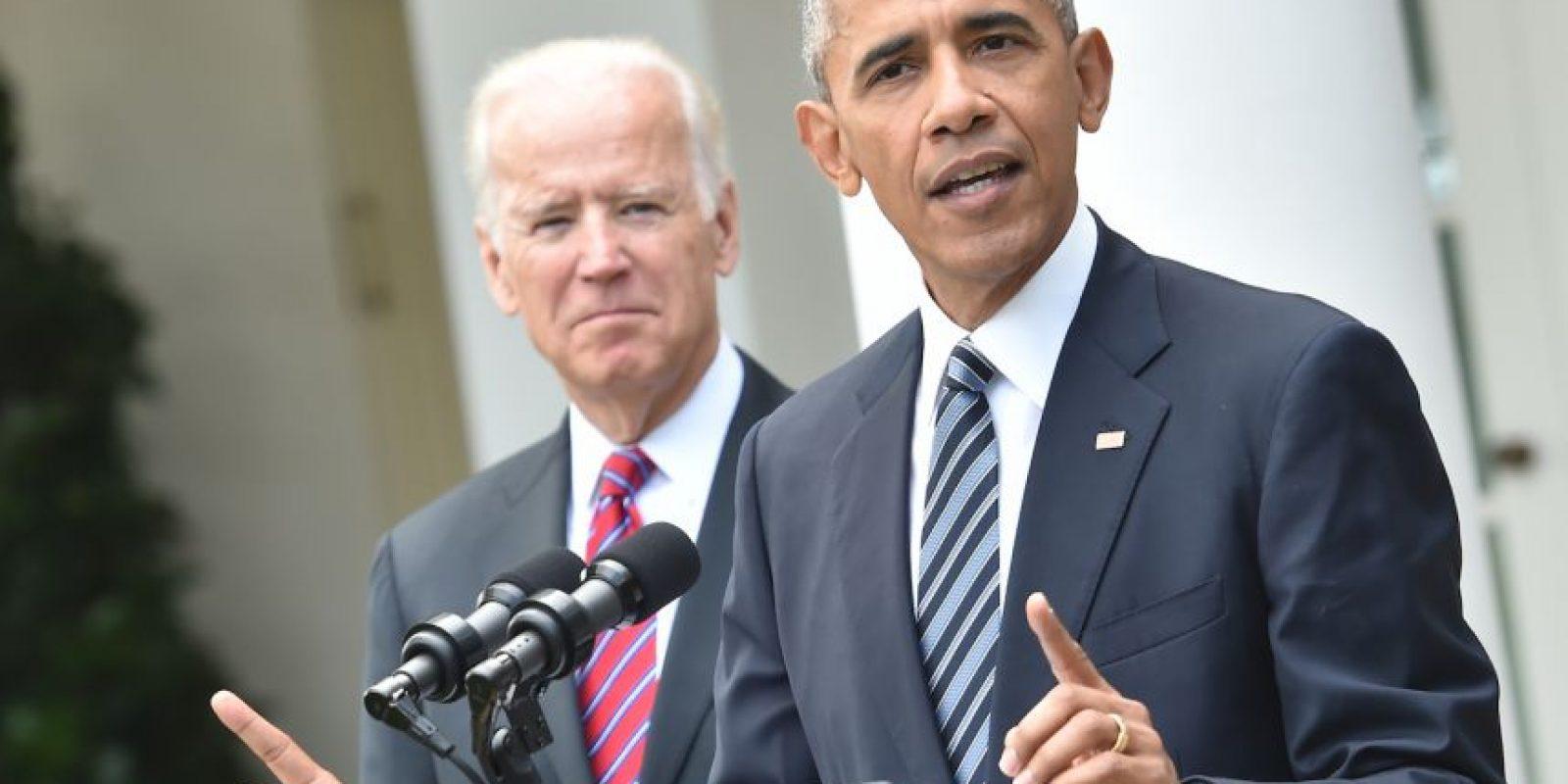El presidente Barack Obama ofreció una conferencia de prensa en la Casa Blanca Foto:AFP