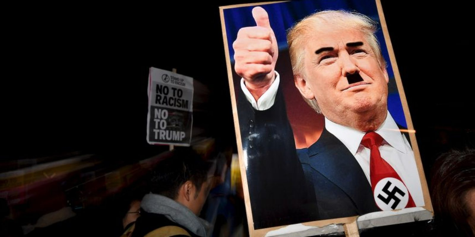 La elección de Donald Trump ha causado protestas en Estados Unidos Foto:AFP