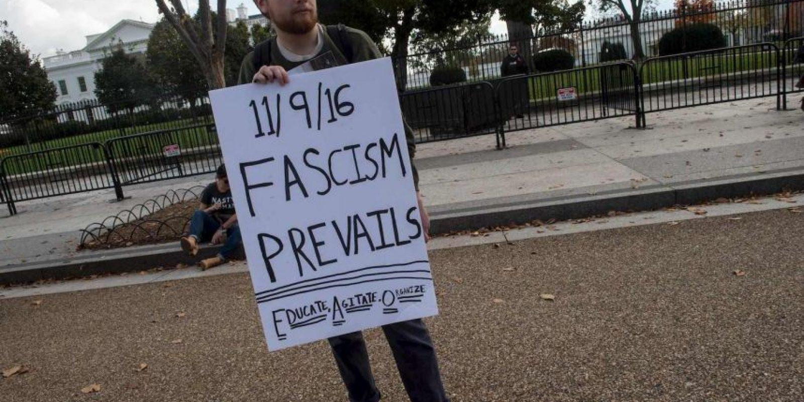 Grupos de apoyo a Hillary Clinton se han manifestado Foto:AFP