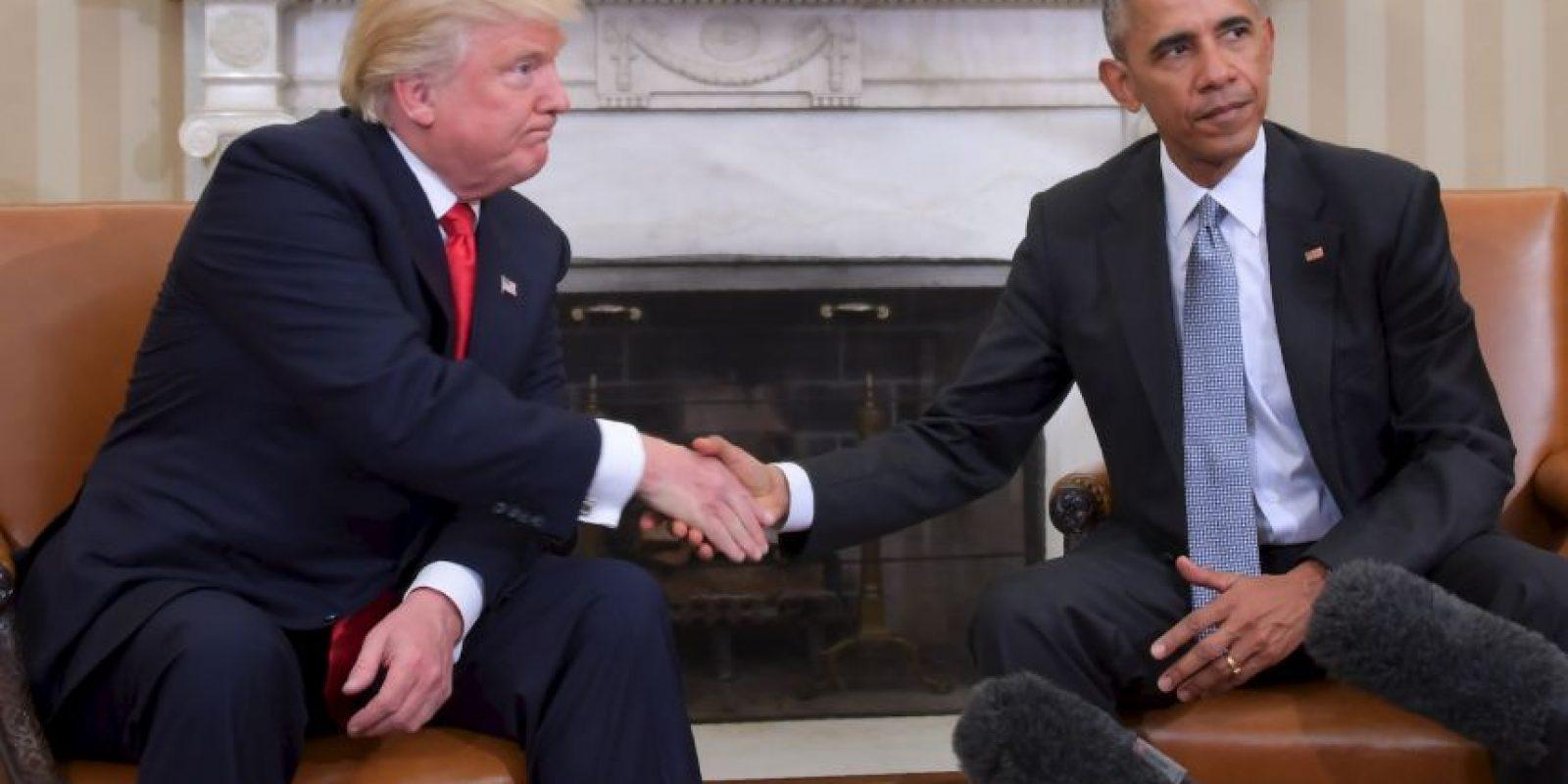 Trump y Obama se reunieron en la Casa Blanca