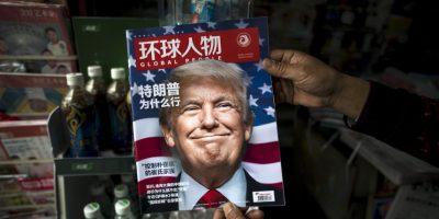 """El muro: Cuando la periodista Lesley Stahl le preguntó a Trump """"¿realmente va a construir el muro?"""", la respuesta fue un rotundo """"sí"""". Foto:AFP"""