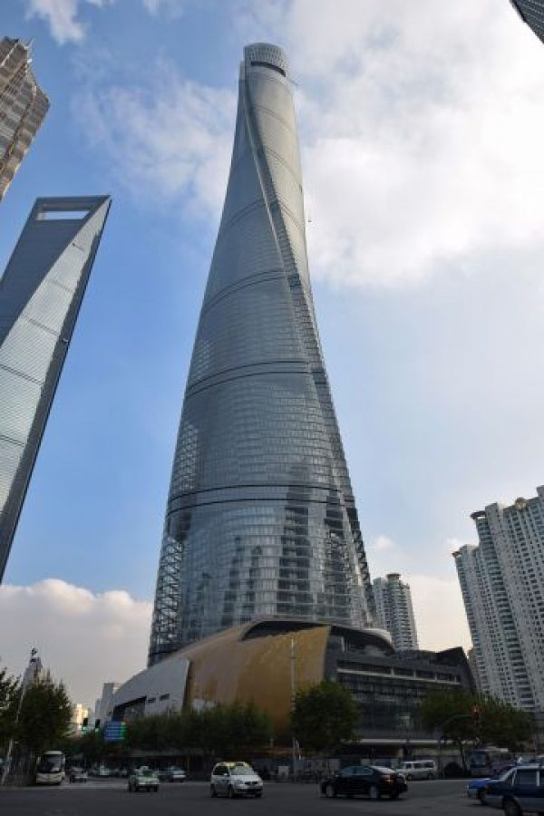 SHANGHAI TOWER Shanghai, China (632 m)