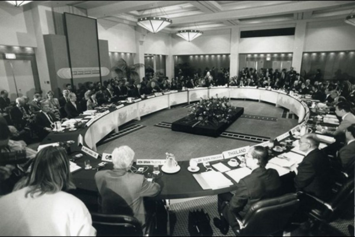 3. Fue fundado en 1989 con 12 estados miembros. Foto:APEC.org