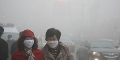 La contaminación registrada en Heilongjiand fue de 400 microgramos por metro cúbico (m3) de aire. Foto:Getty Images
