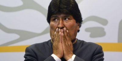 Evo Morales hizo una broma sexista y este fue el resultado