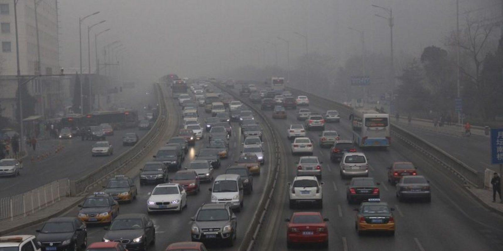 El aumento de la contaminación se debió al incremento en el uso de calefactores. Foto:Getty Images